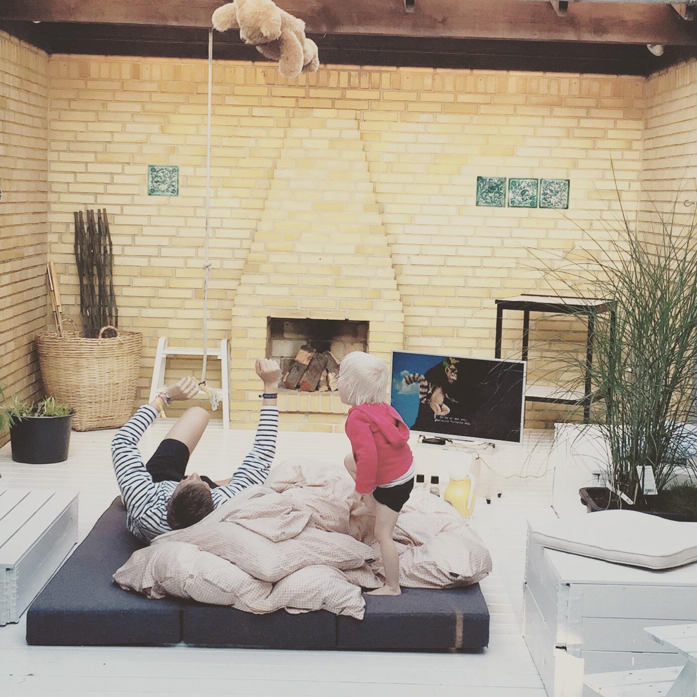Atriumgård - En gårdhave man ikke ved hvad indeholder